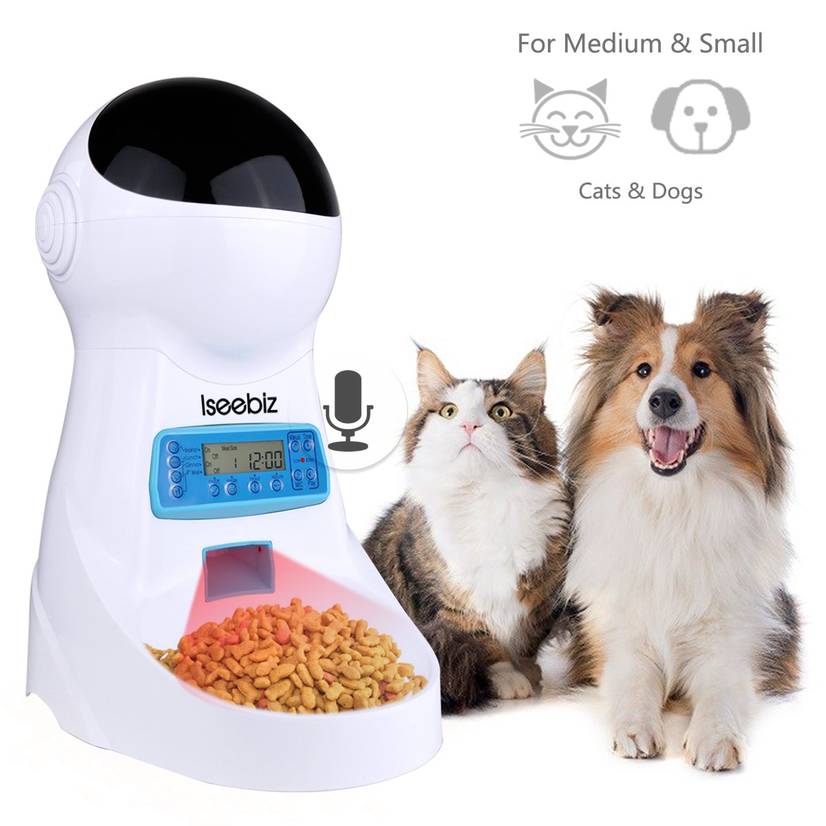Pet Supplies Dishes, Feeders & Fountains Trustful Cat Mate C50 Automatic 5 Meal Pet Feeder For Cats Or Small Dogs Boxed Wide Selection;