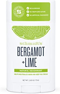 product image for Schmidt's Bergamot + Lime Natural Deodorant - 2.65oz