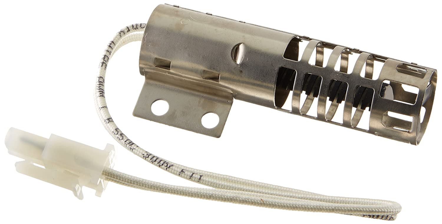 4342528 - OEM FACTORY ORIGINAL WHIRLPOOL KENMORE MAYTAG GAS RANGE OVEN IGNITOR (Round style design. This igniter replaces all round style (Carborundum