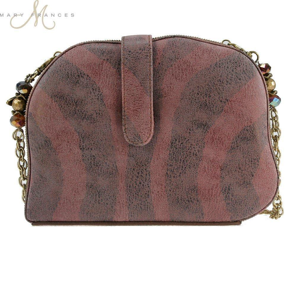 17a0979af2d6 Mary Frances Elephant Dance Multi Color Beaded Evening Handbag  Handbags   Amazon.com