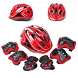 LBLA Helmet and Pads for Kids 5-12 Years Toddler
