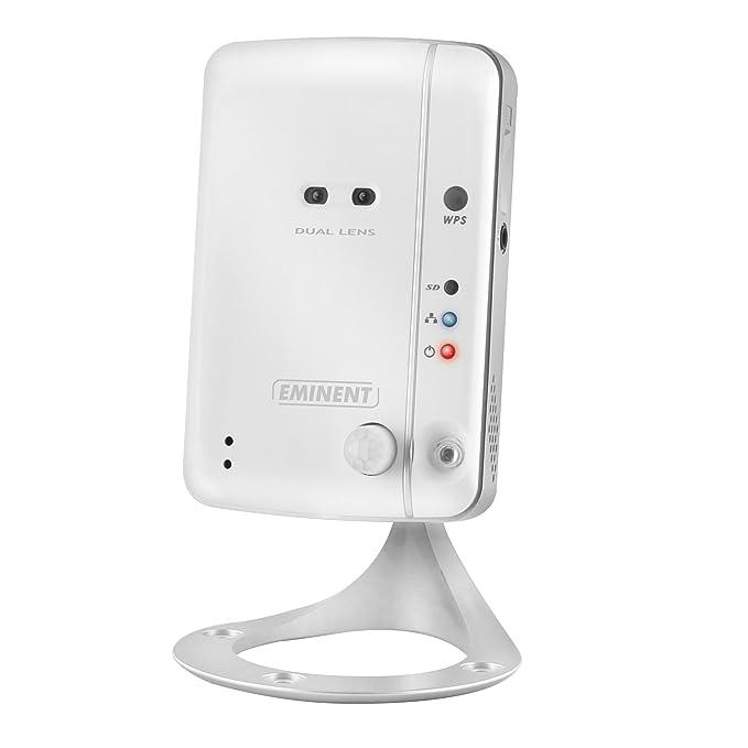 1 opinioni per Eminent Easy Pro View Telecamera IP, Bianco