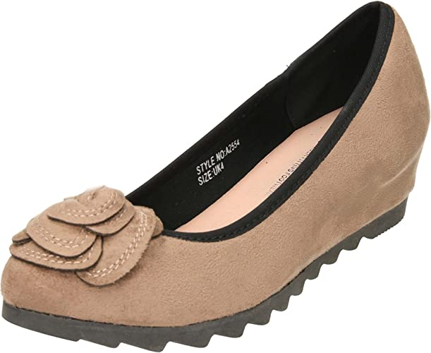 Florence Shoes Wide Fit Concealed Wedge