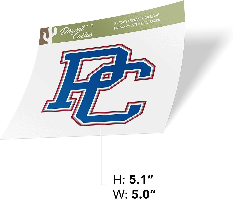 Sticker - PRIM ATH Mark Presbyterian College Blue Hose NCAA Vinyl Decal Laptop Water Bottle Car Scrapbook