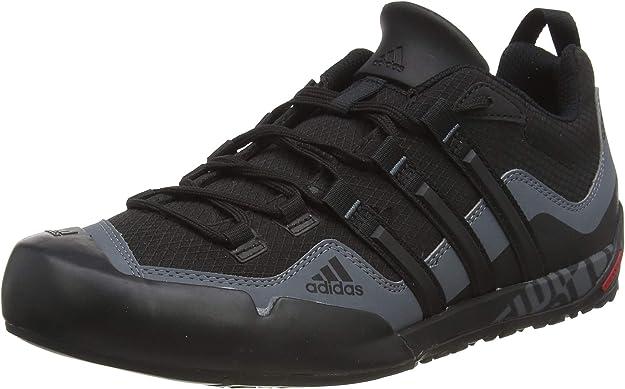 adidas Terrex Swift Solo, Chaussures de Fitness homme, Noir (BlackBlackLead), 42 23