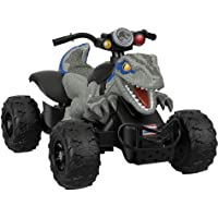 Deals on Power Wheels Jurassic World Dino Racer