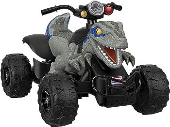 Power Wheels Jurassic World Dino Racer Kids ATV