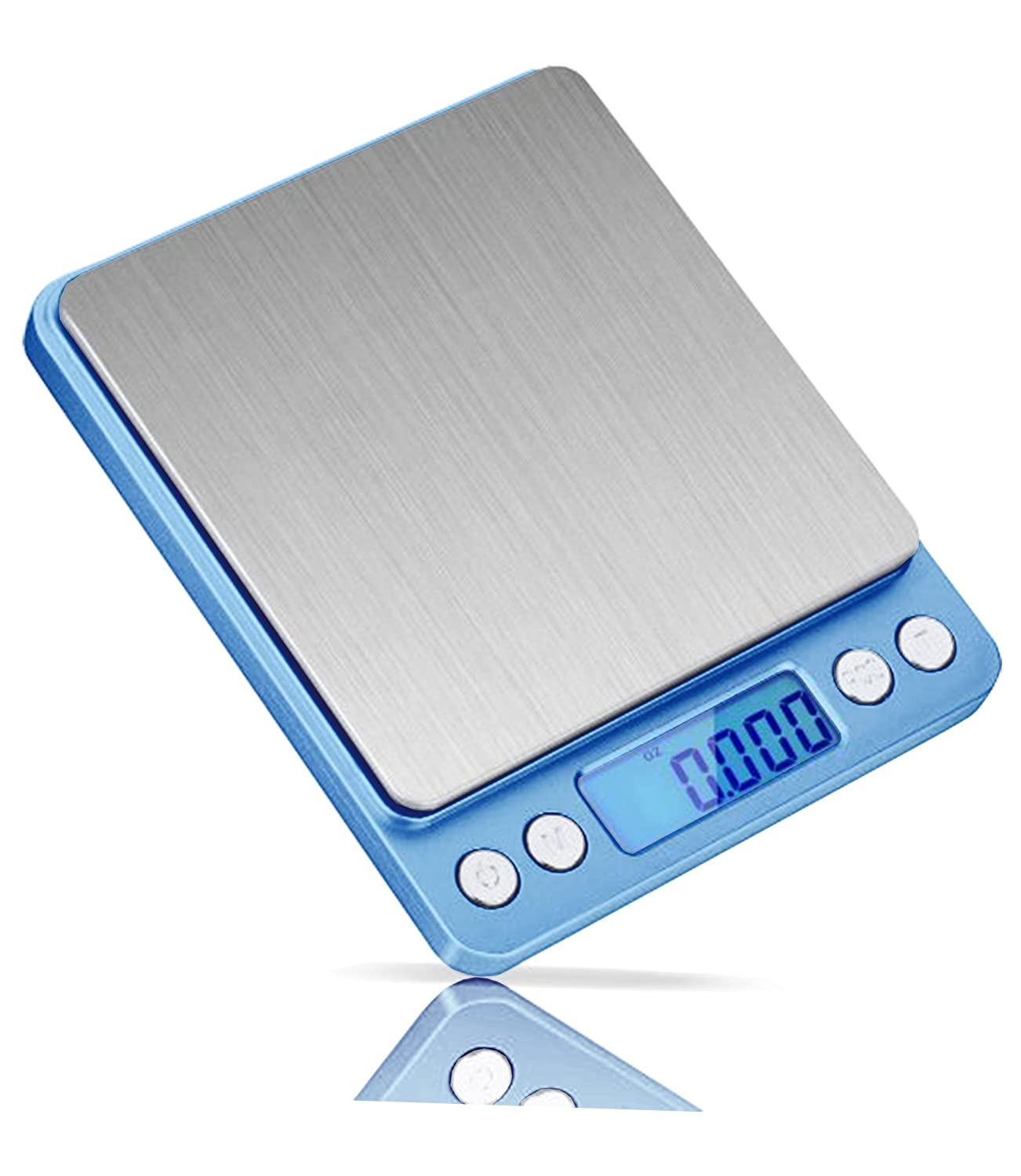 New Digital Scale Multi Purpose Capacity 500grms/16 oz. Silver Stars JPS120