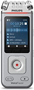Philips VoiceTracer Audio Recorder for lectures and interviews DVT4110