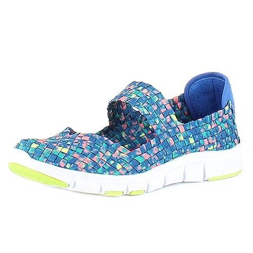 Heavenly Feet Heavenly Feet - Heavenly Feet Lollipop Ocean Multi Shoes - Botines Mujer: Amazon.es: Zapatos y complementos