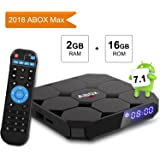 TV Box Android 7.1, [2G+16G] GooBangDoo A1 MAX 4K Full HD Smart Player TV Box Bluetooth 4.0 / 64 Bits / Quad Core