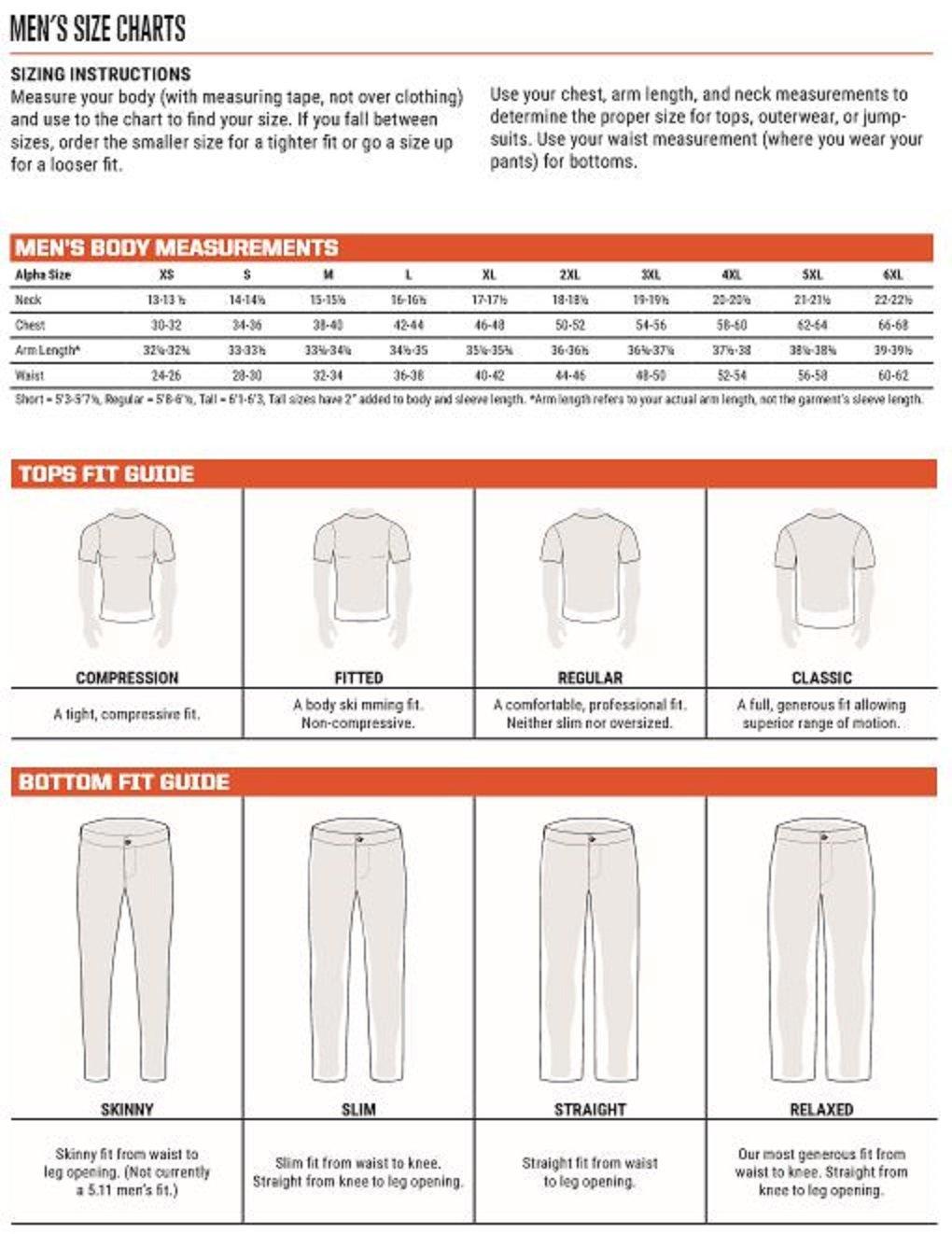 5.11 Tactical Ridgeline Pant,Black,32-30