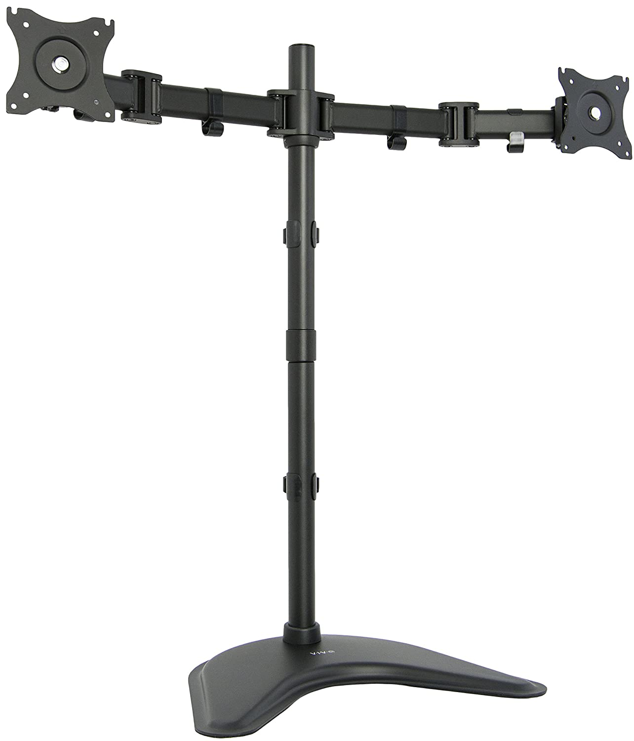 Amazon com vivo triple lcd monitor desk mount stand heavy duty fully - Amazon Com Vivo Dual Monitor Extra Tall Free Standing Desk Mount Stand Holds 2 Lcd Screens Up To 27 Stand V012p Computers Accessories