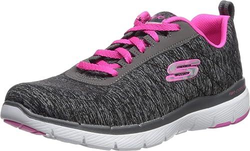 Skechers Flex Appeal 3.0 Grigio in movimento rapido