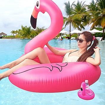 SPECOOL Flotador de Piscina para Adultos, Balsas Inflables Unicorn Nadar Juguetes de Piscina para Adultos (Flamencos Adultos): Amazon.es: Deportes y aire ...