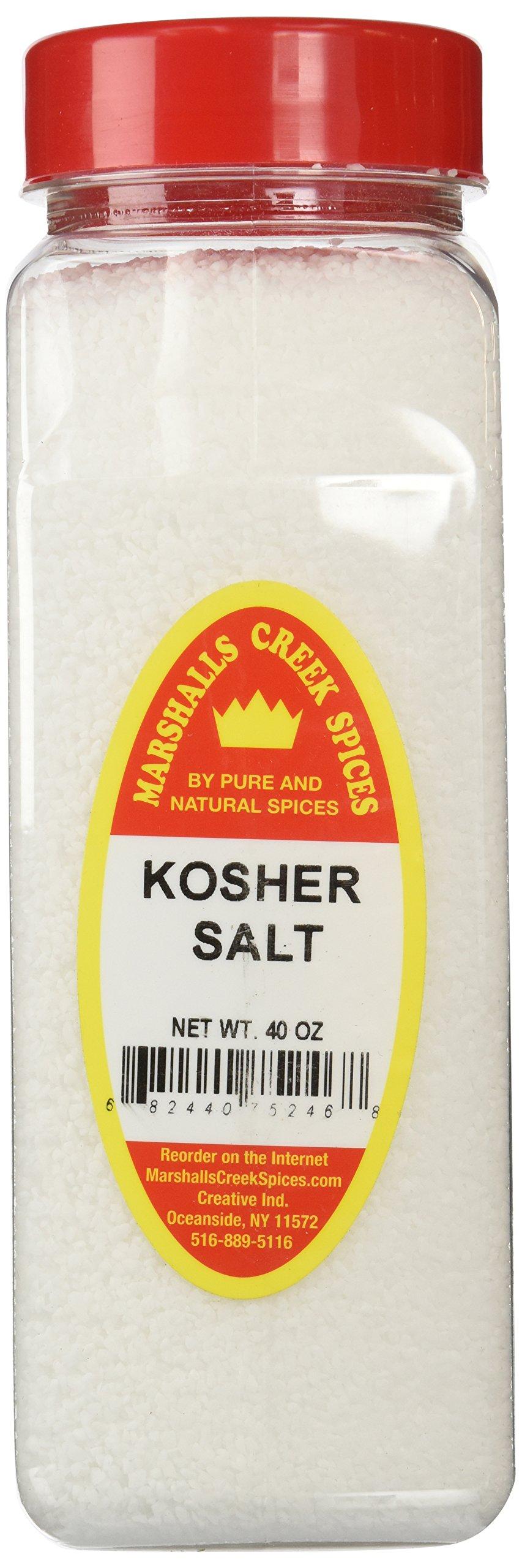 Marshalls Creek Spices X-Large Size Kosher Salt, 40 Ounces