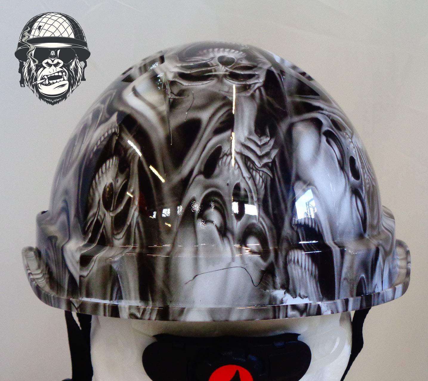 GHOST LINESMAN HARD HATS CUSTOMISED 100/% LEGAL