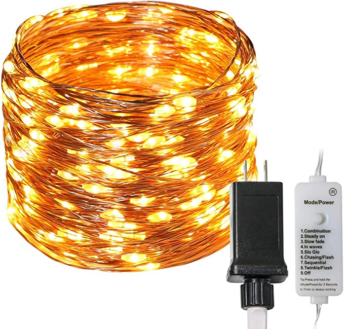 5 Modes Lights for Flas KooPower 6 PCS 20 LEDs 2M Bottle Light Warm White