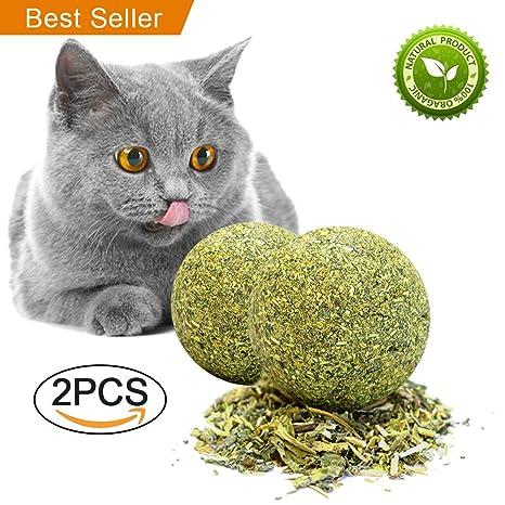 yagood Juguetes para Gatos Catnip Matatabi Juguete Masticar Gatito De Mascotas Limpieza Dientes Saludable Cuidado EcolóGico