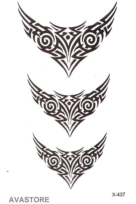 Tatuajes temporales tribal - Tatuaje efímero tribal