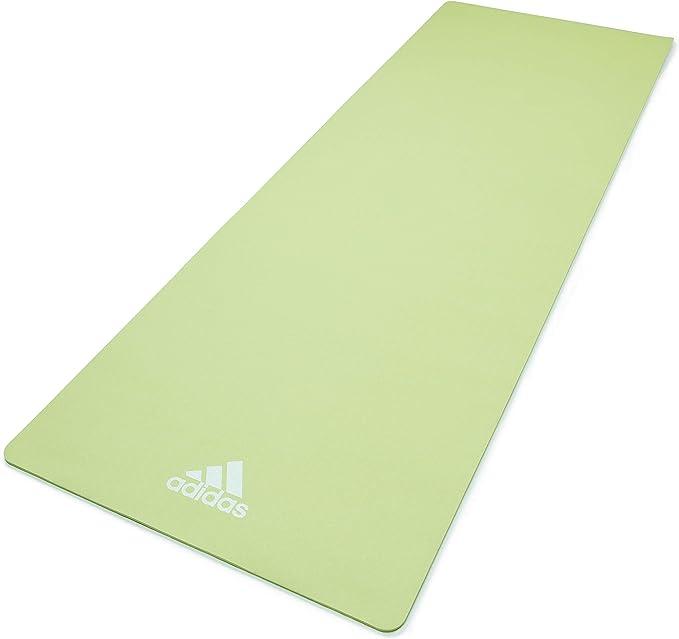 Antorchas Infantil mecanógrafo  Amazon.com: adidas Yoga Mat- 8mm - Aero Green: Sports & Outdoors