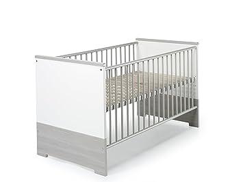 Schardt Eco Silber Kombi Kinderbett 70x140 Cm Amazon De Baby