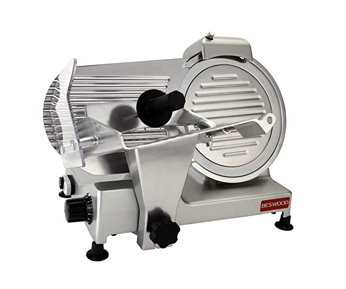 "BESWOOD 10"" Premium Electric Deli Meat Slicer – Best High-End Meat Slicer"