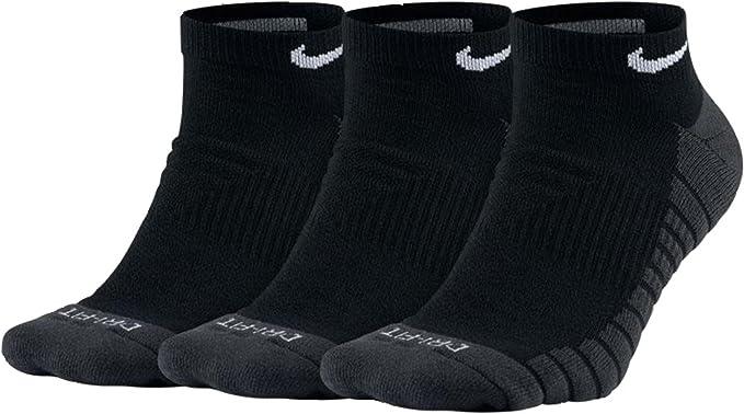 Mens Nike Dry Cushioned No Show Training Socks 3 Pair XL (12-15)