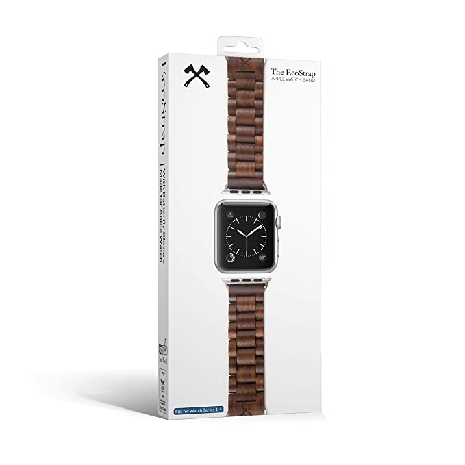 Woodcessories – Pulsera De Reloj, Correa Compatible con Apple ...