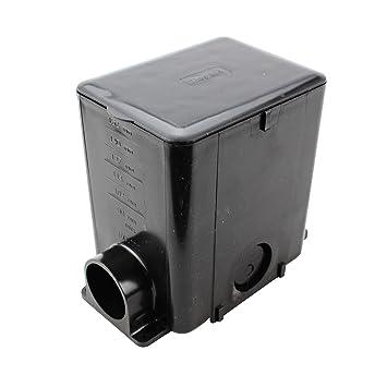 Wiremold Legrand 880MP Modulink Multi Service Rectangular Floor Box, Black