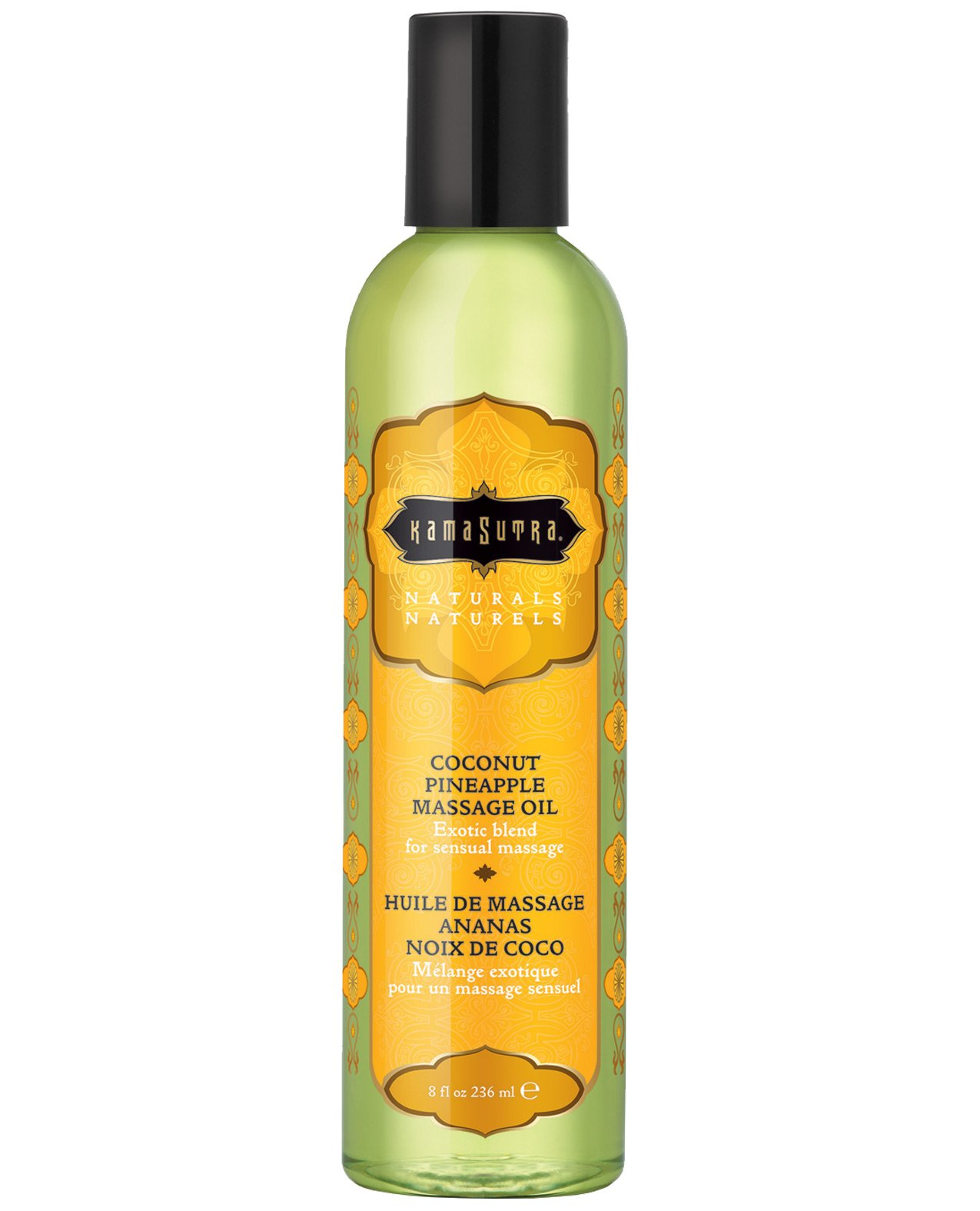 Kama Sutra Naturals Massage Oil - Coconut Pineapple by Sex Toys Online Store