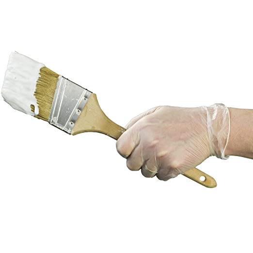 Medium GPX3 Industrial Clear Vinyl Gloves Powder Free GPX344100 Disposable Case of 1000 3 mil Latex Free