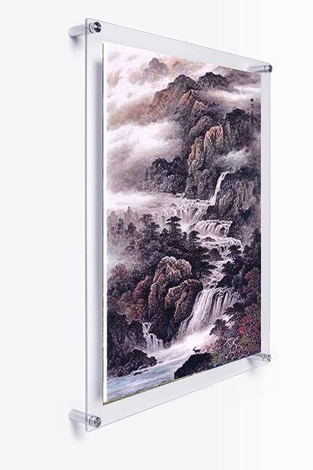 Amazon.com: A3 Wall Mounted Acrylic Plexiglass Poster Frames ...
