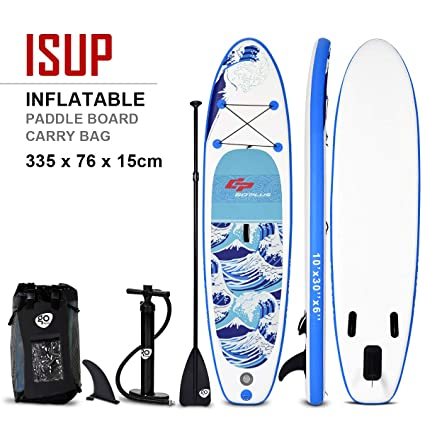 COSTWAY Tabla Hinchable Paddle Surf Sup 305 x 76 x15cm Board ...