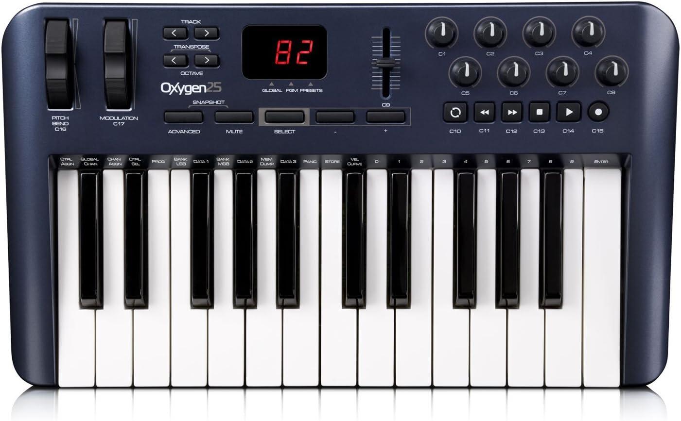 M-Audio Oxygen 25 - Teclado MIDI Intel pentium III 1 Ghz, 512 ...