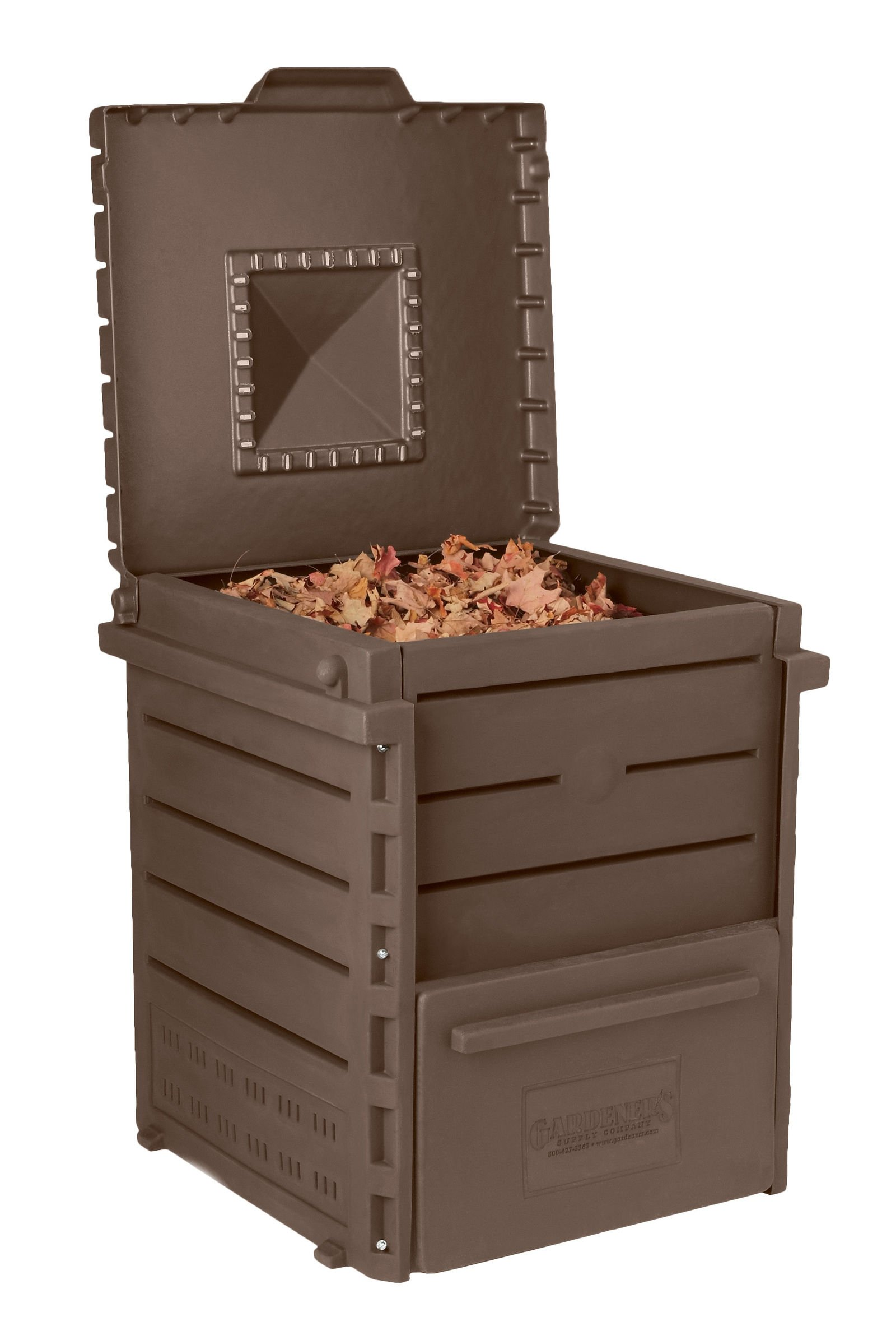 Deluxe Pyramid Composter, Recycled Plastic Composter by Gardener's Supply Company (Image #2)