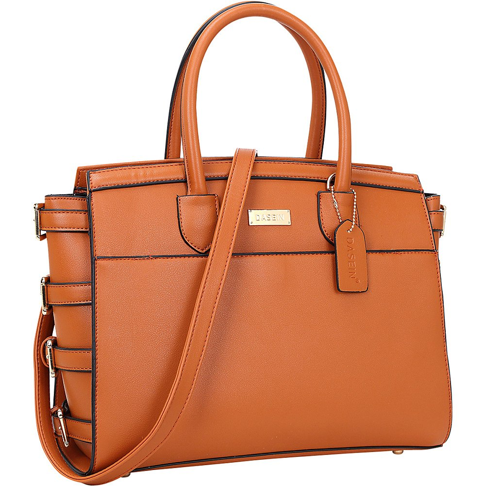 Dasein Side Buckle Top Handle Satchel