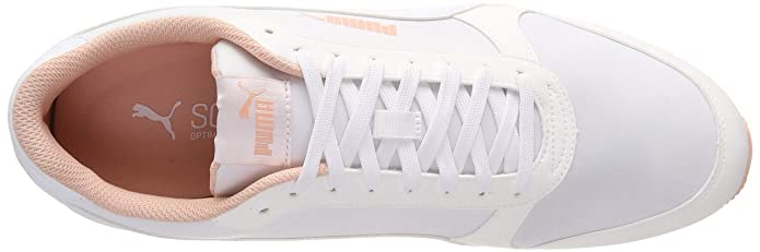 Puma ST Runner v2 NL, Scarpe da Fitness Unisex Adulto, Bianco White Peach Bud, 45 EU