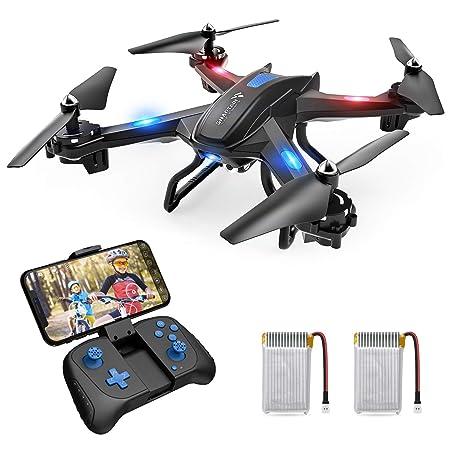 SNAPTAIN S5C Drohne mit Kamera HD 720P live übertragung WiFi FPV RC Quadrocopter Sprachsteuerung Gravitationssensor Flugbahnf