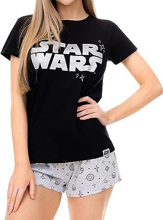 Star Wars Pijama para Mujer Guerra de Las Galaxias