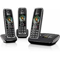 Gigaset C530A Trio Festnetz-Telefon schnurlos DECT Anrufbeantworter