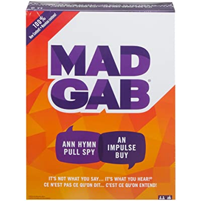 Mad Gab Game: Toys & Games