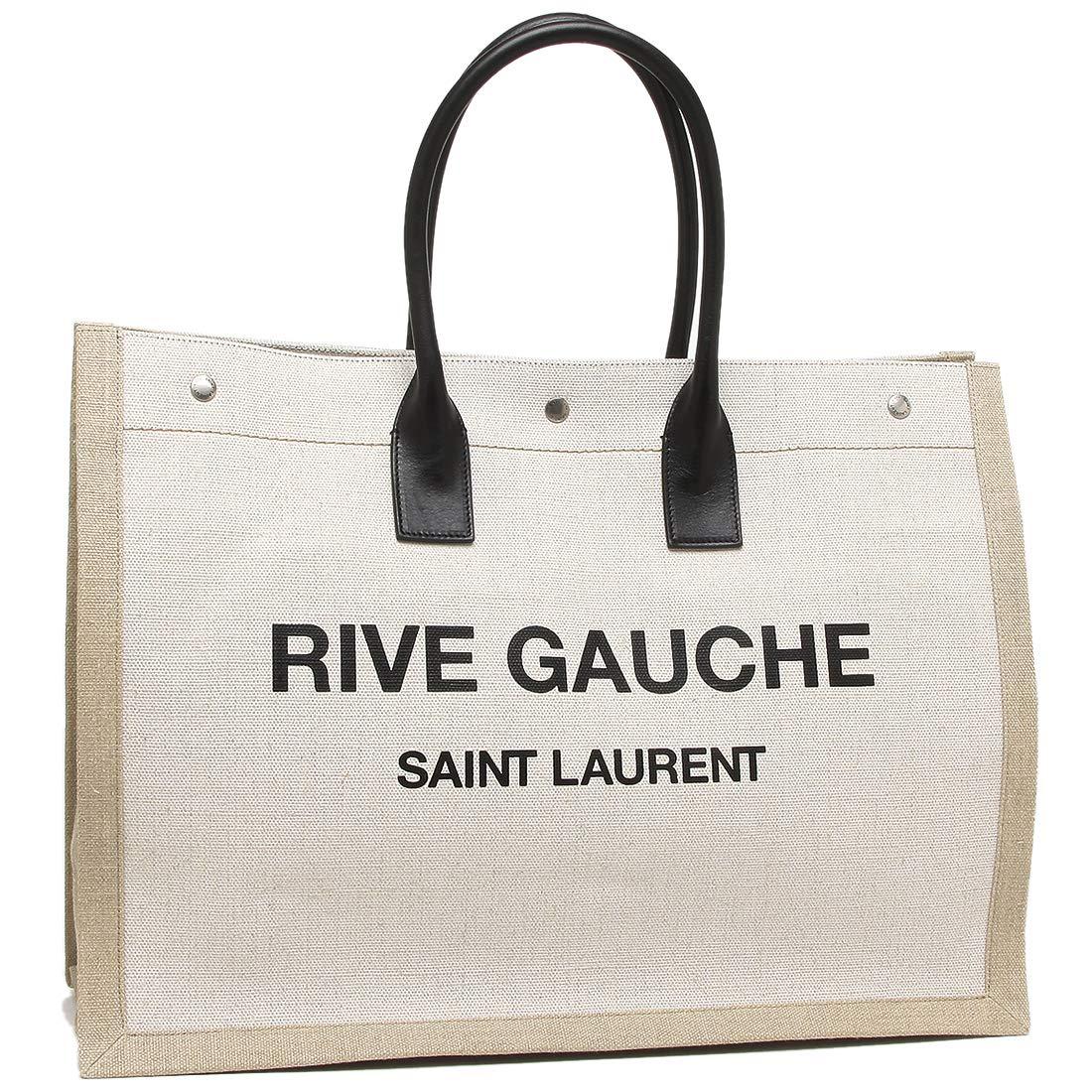 [サンローラン]トートバッグ レディース SAINT LAURENT PARIS 499290 9J52D 9280 ホワイト [並行輸入品] B07PGG3S9G