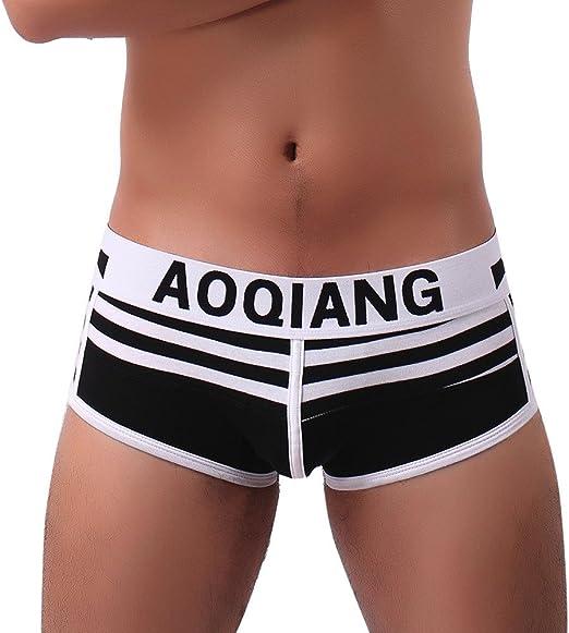 Hunpta@ - Pantalones Cortos para Hombre Sexy, Calzoncillos para ...