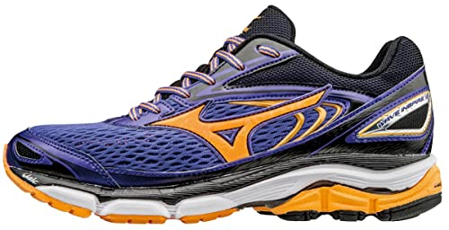 c93bb81c6e2565 Mizuno Damen Wave Inspire 13 (w) Laufschuhe Violett (Liberty orange Pop