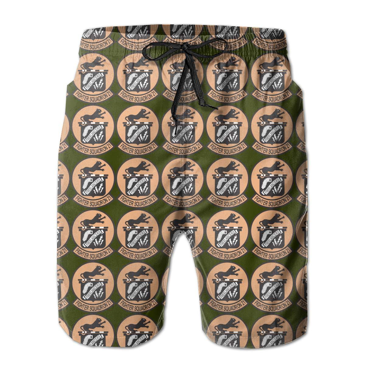AIYIZHEN VF-21 Freelancers Mens Beach Shorts Swim Trunks Swimsuit