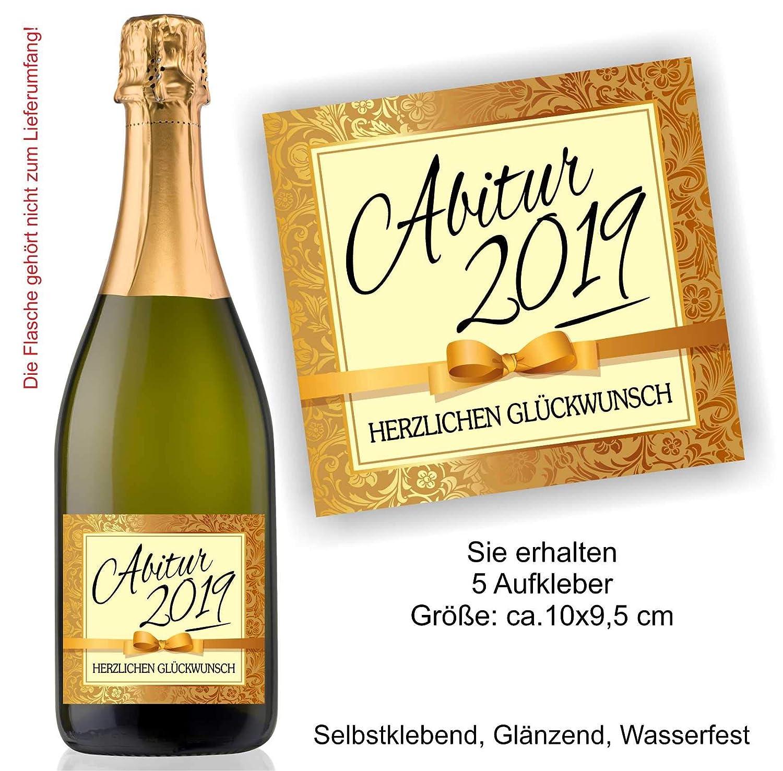 Play Too 5 Aufkleber Etikett Flasche Sektflasche Weinflasche Bierflasche Abi Abitur Reifeprüfung