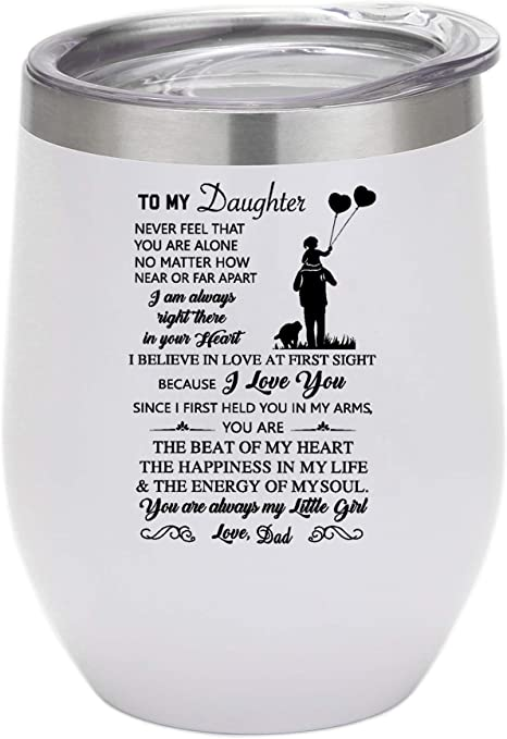 Father Quote Wine Tumbler Sweet Father Gift Wine Tumbler For Father I Love You More Tumbler Father Gift I Love You Father Gifts