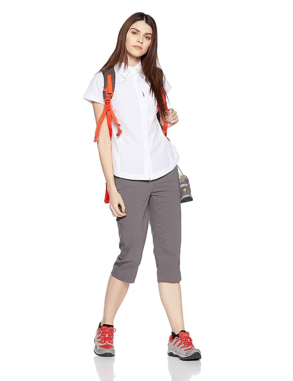 Columbia Kurzarm-Wanderhemd f/ür Damen Nylon Silver Ridge Short Sleeve Shirt