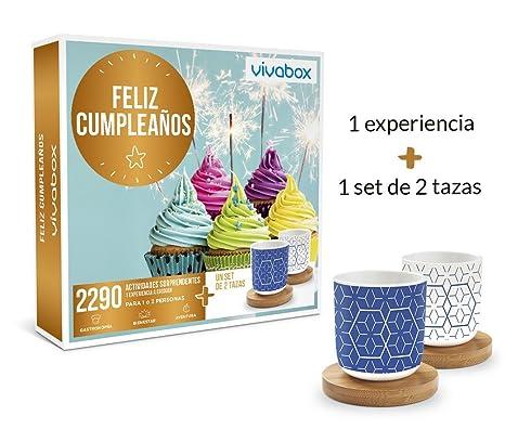 VIVABOX Caja Regalo -Feliz CUMPLEAÑOS- 1.640 Actividades ...
